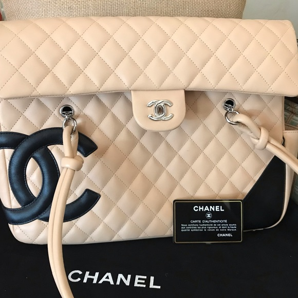 CHANEL Handbags - Large, light pink quilted Chanel bag